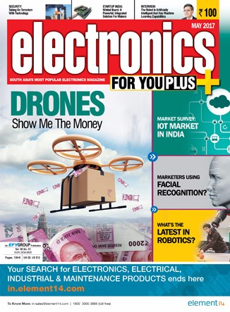 Electronics for You May 2017 - IoT Market in India